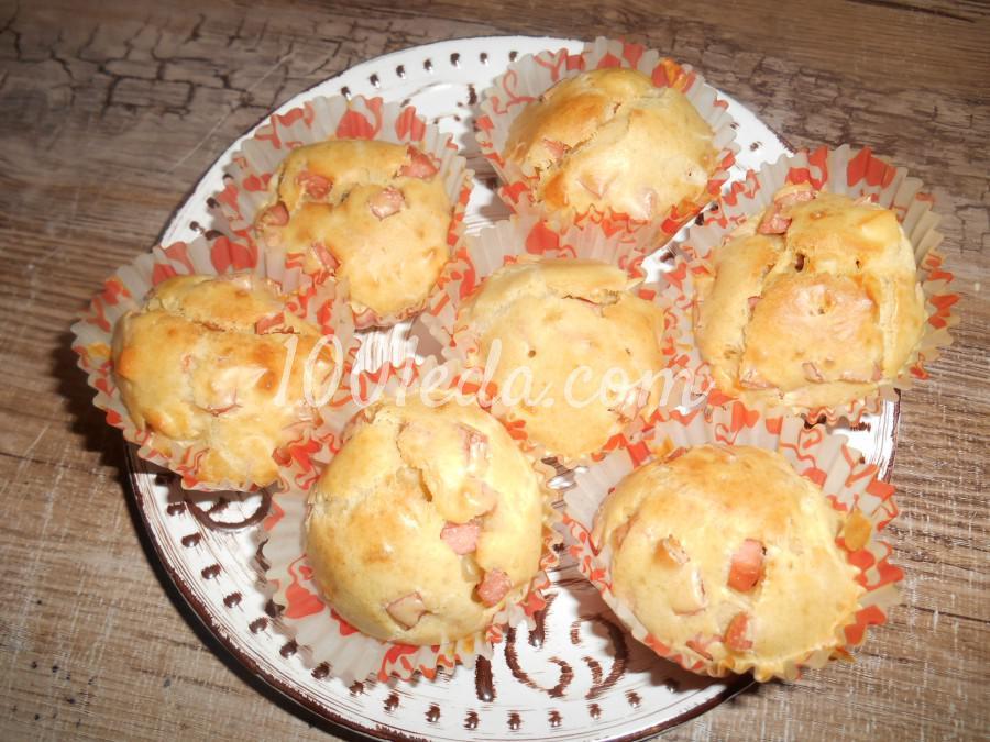 маффины с мясом и сыром рецепт с фото пошагово