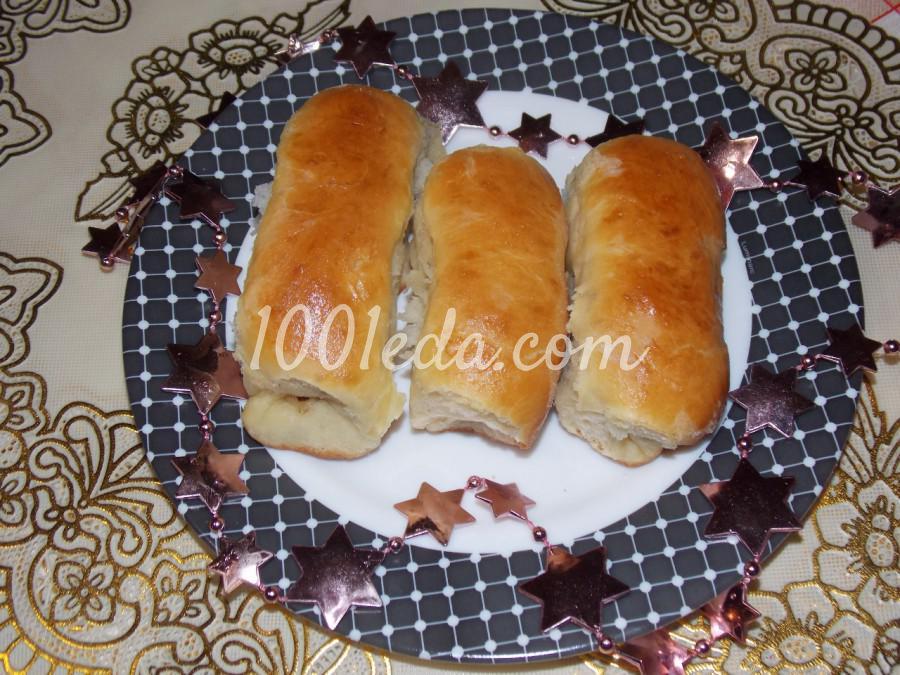 Булочки-рулетики из вкусного теста: рецепт с пошаговым фото