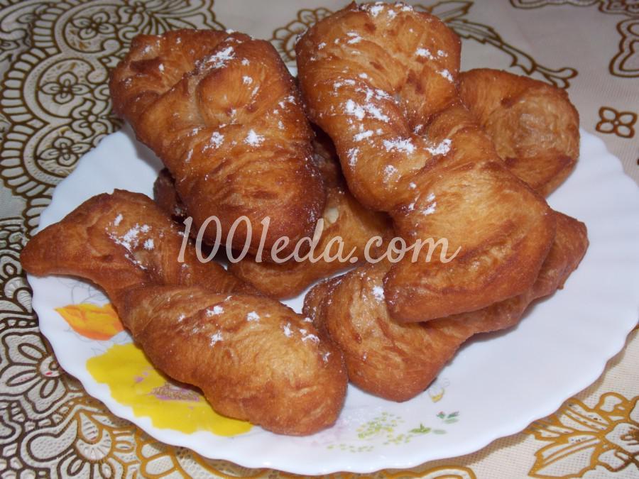 Пончики Крепли на майонезе