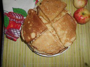 блинчики из яблок рецепт с фото