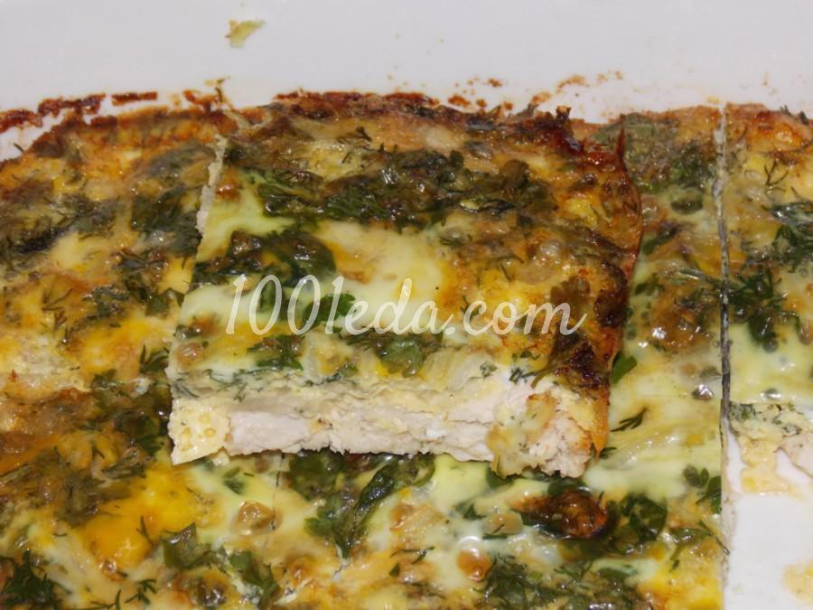 Куриное филе, запечённое под омлетом: рецепт с пошаговым фото