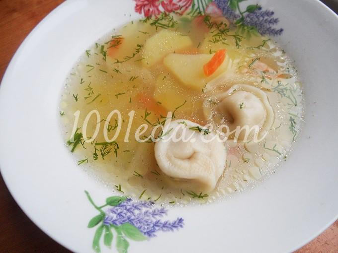 Суп пельменный: рецепт с пошаговым фото