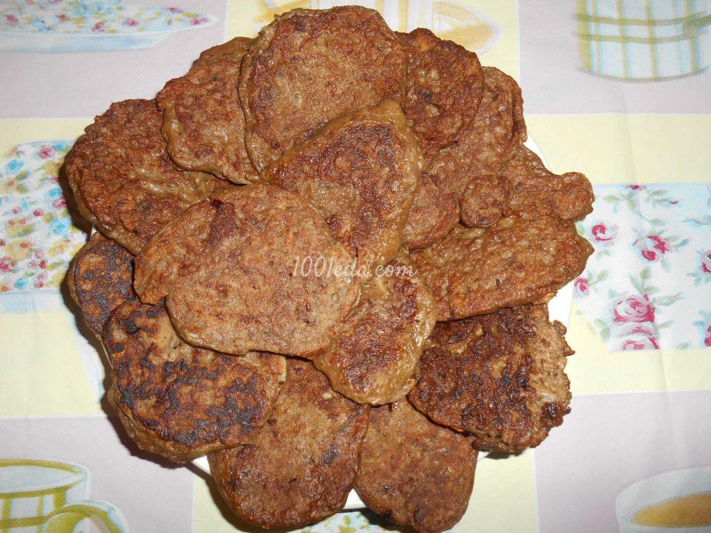оладьи печени пошаговый рецепт фото
