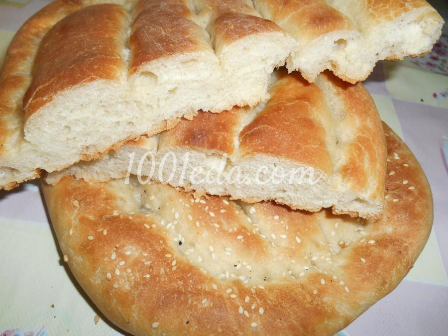 Хлеб матнакаш рецепт с пошагово