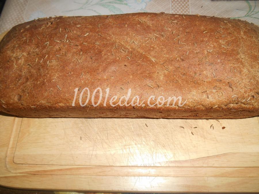 Домашний ржаной хлеб: пошаговое фото