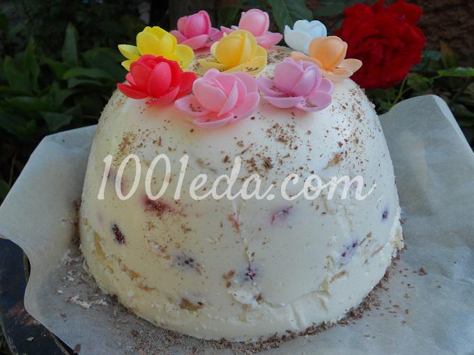 Творожный торт: рецепт с пошаговым фото