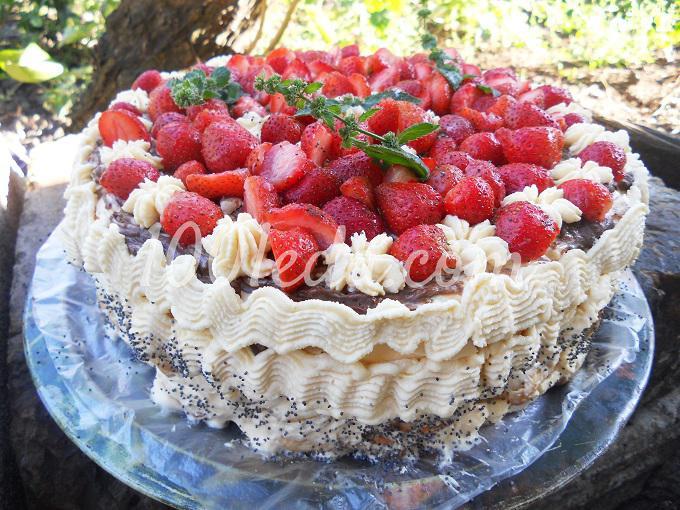 рецепты торт дамский пальчик