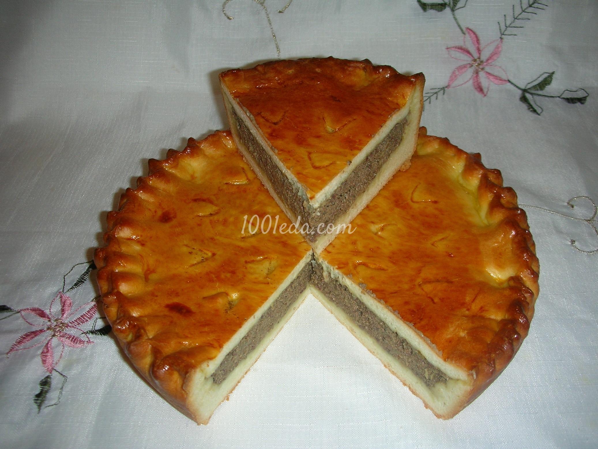 Праздничные пироги из дрожжевого теста рецепты