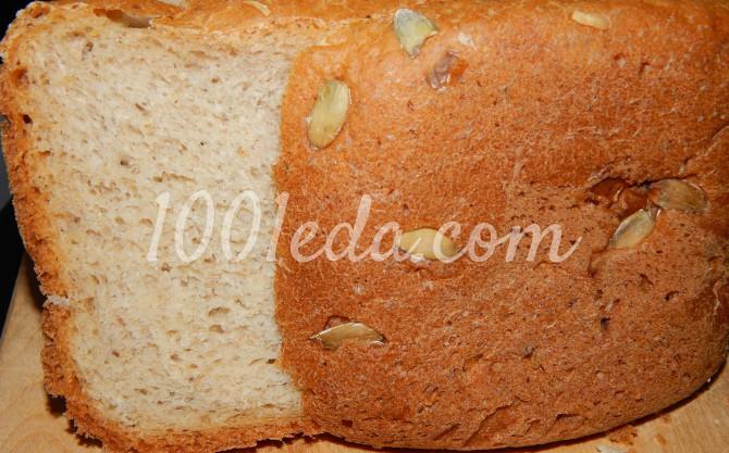 Фисташковый хлеб с тыквенными семечками в хлебопечке: рецепт с пошаговым фото