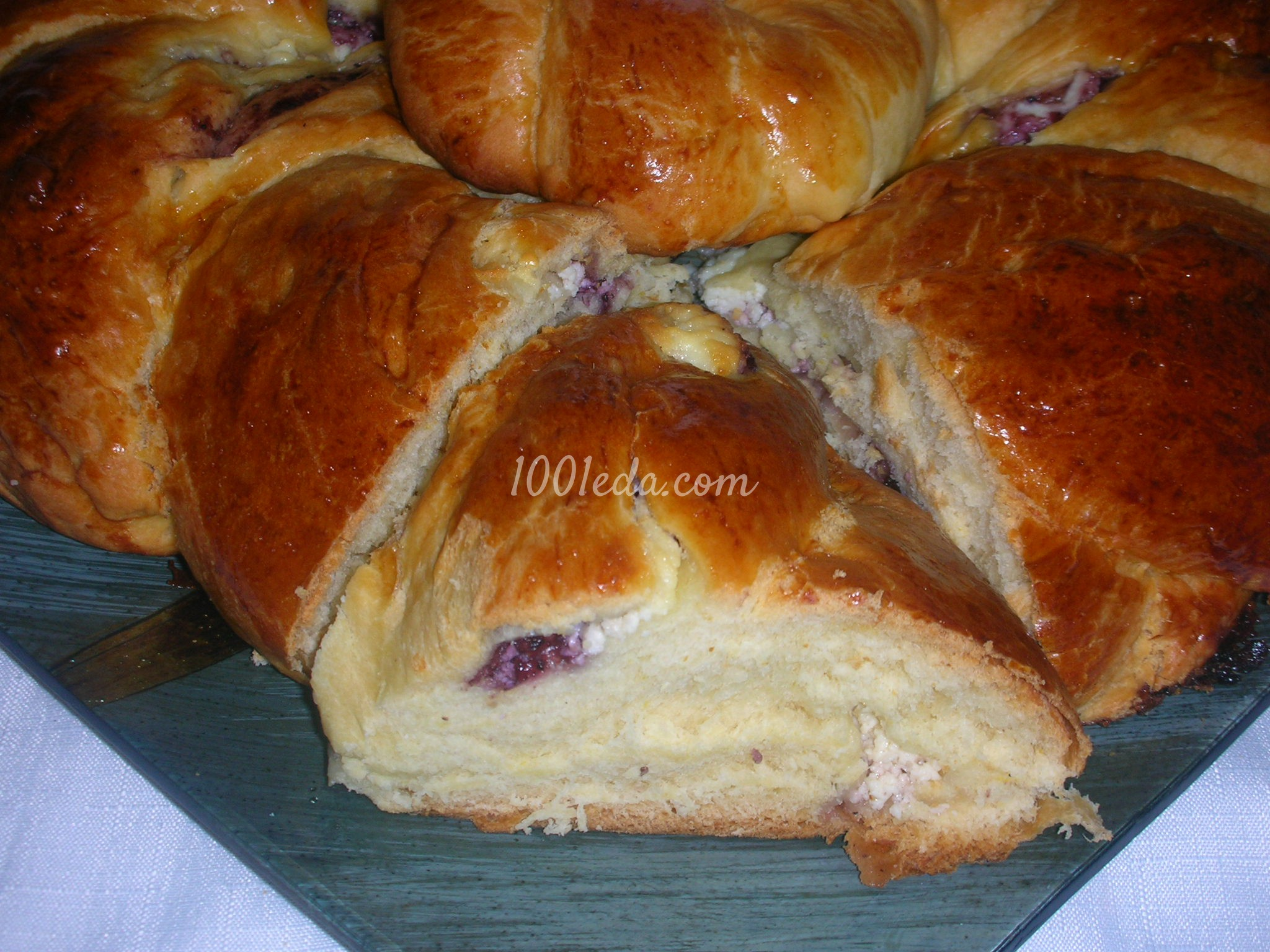 Пирожки из творога в духовке рецепт пошагово