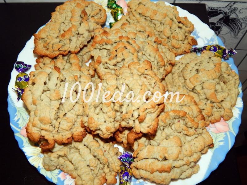 Печенье кучерявый рецепт