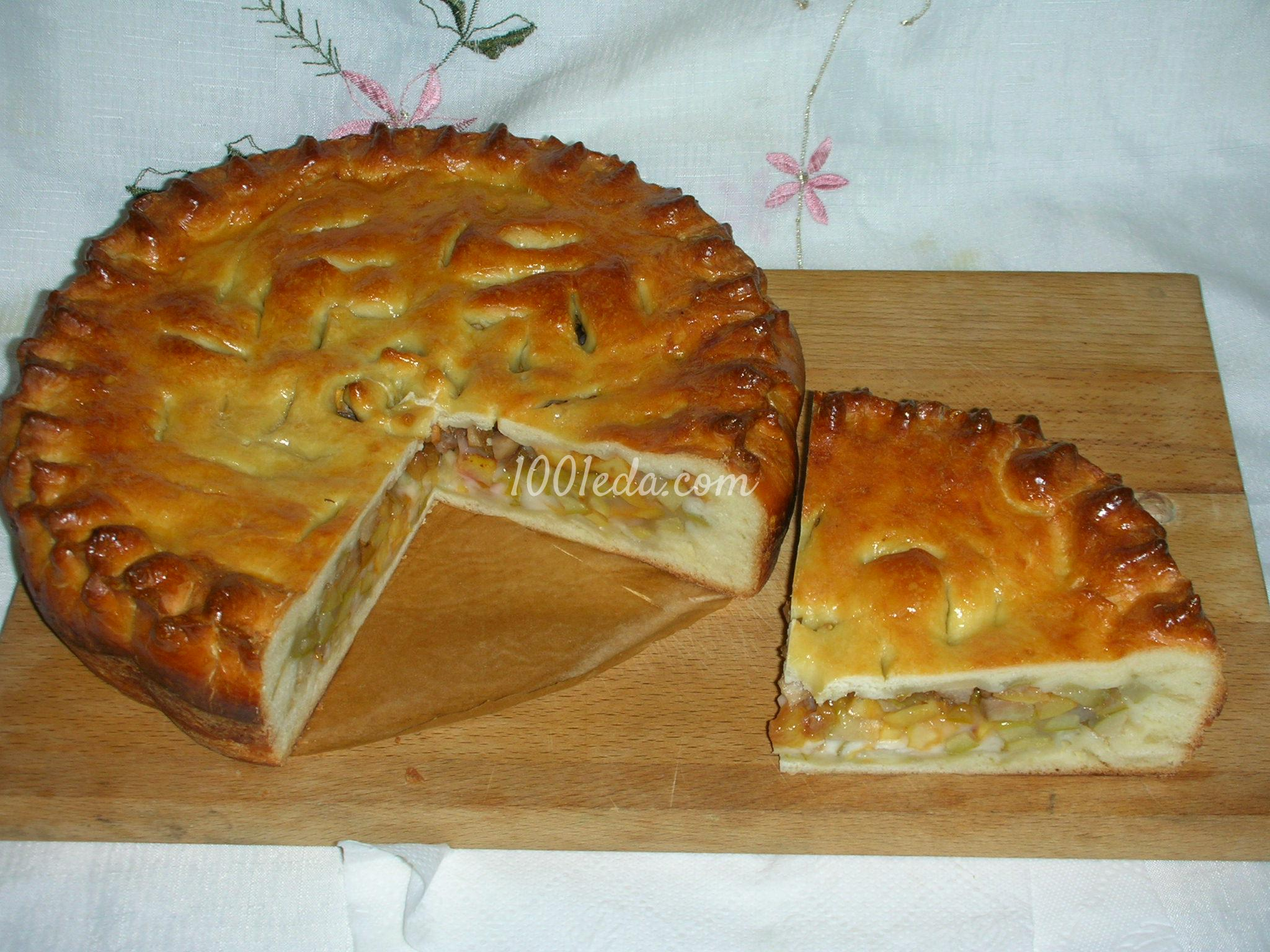 Как сделать тесто для пирога без дрожжей с вареньем
