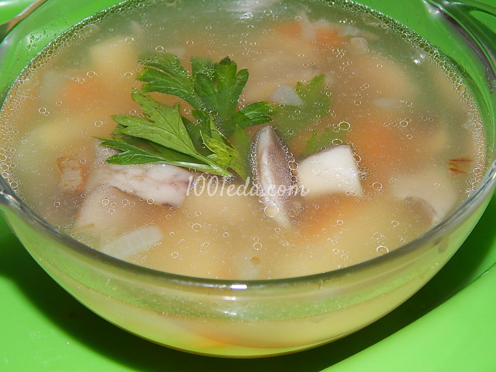 грибной суп рецепт из консервированных грибов