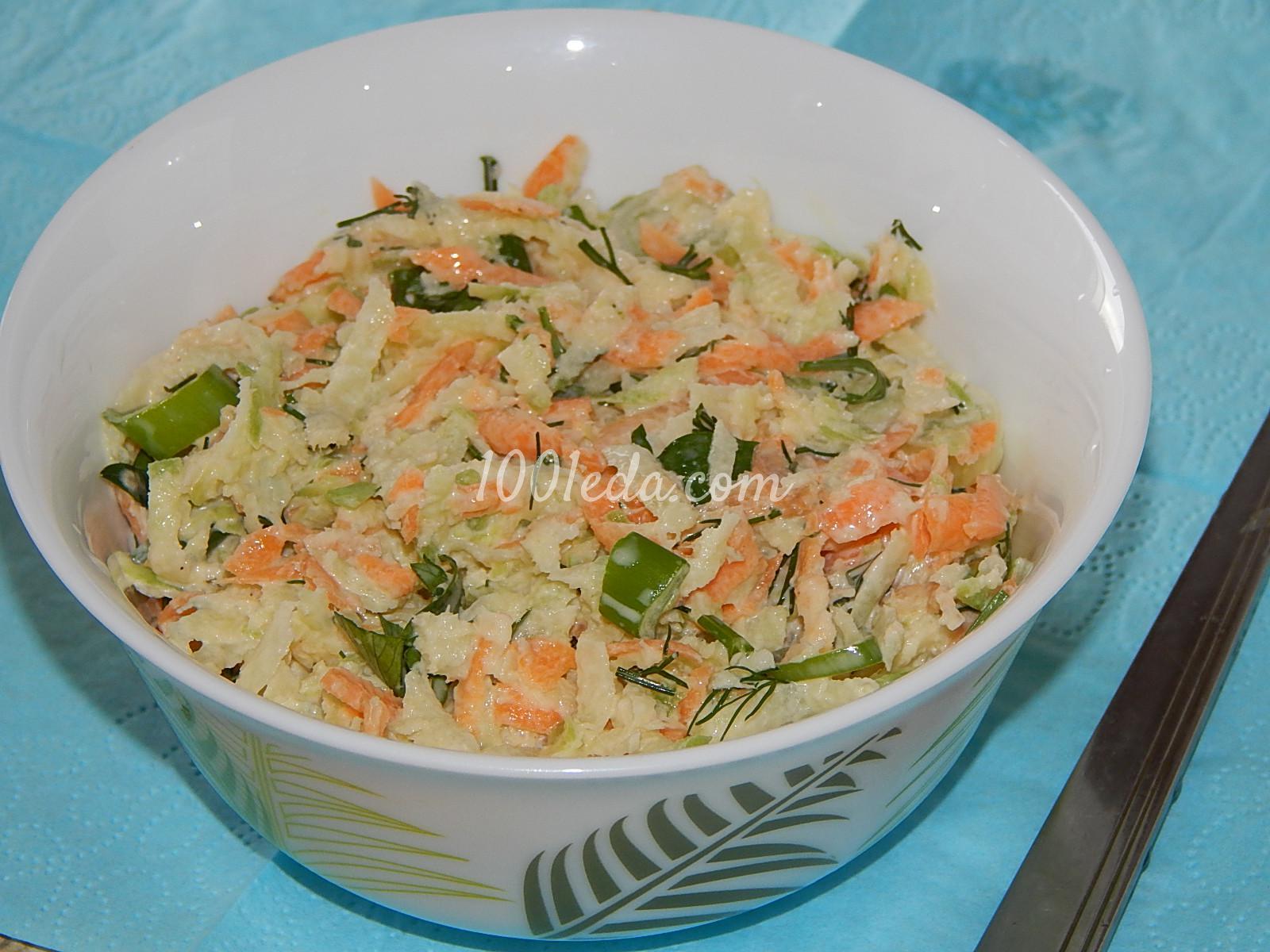 Рецепт салат с зеленой редькой рецепт с