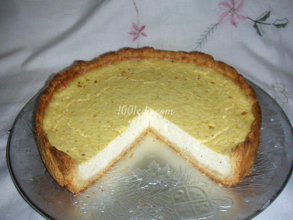 Легкий пирог творогом рецепт фото