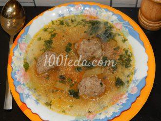 Классический суп с фрикадельками: рецепт с пошаговым фото