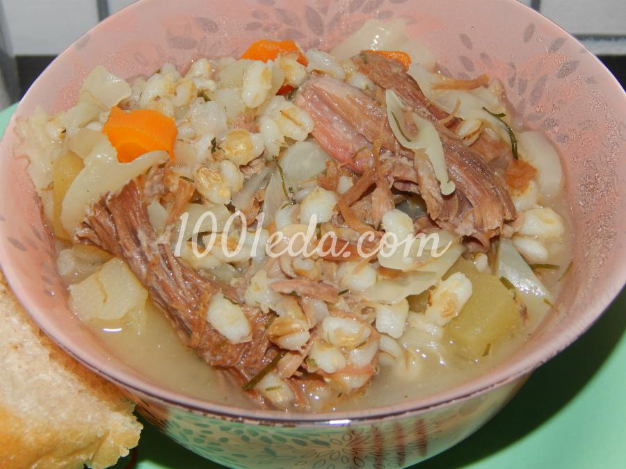 Перловка с овощами рецепт с фото пошагово