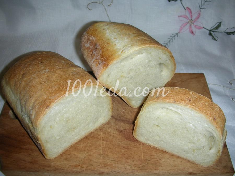 Простой безопарный луковый хлеб: рецепт с пошаговым фото