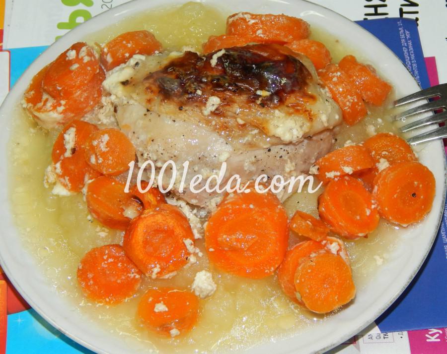 запеченная курица в сметане в духовке рецепт
