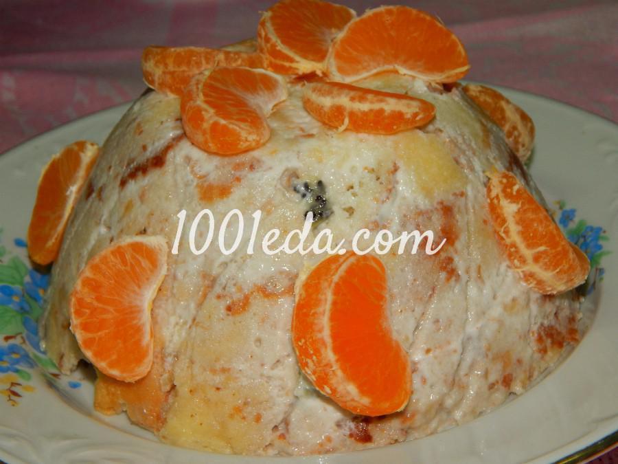 Торты бисквитные фруктовые пошаговые рецепты