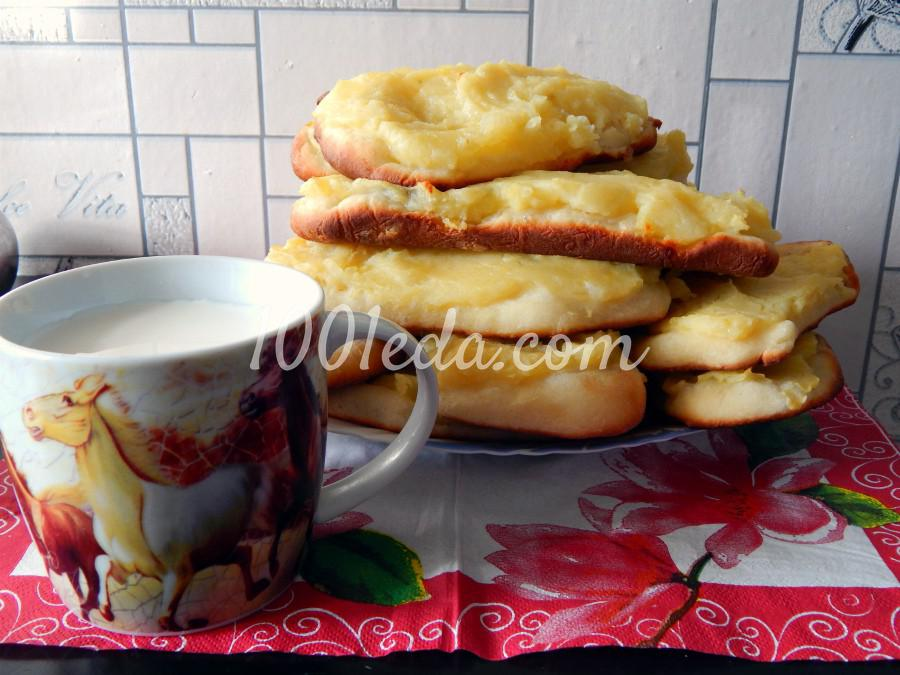 Картофельные шаньги: пошаговое фото