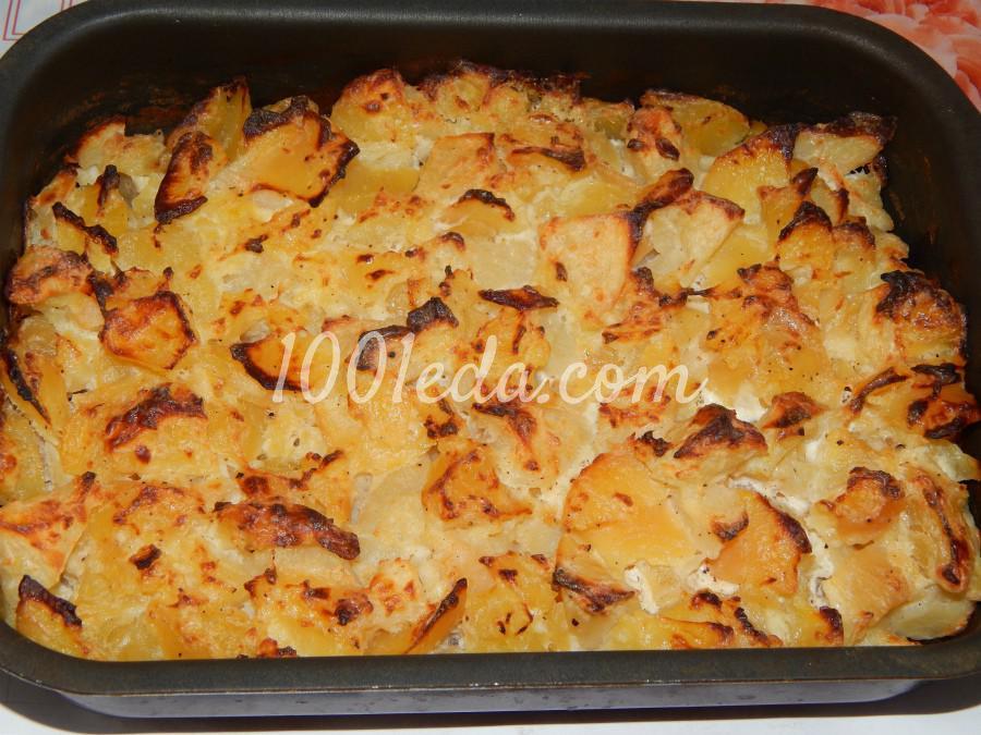Простая картофельная запеканка