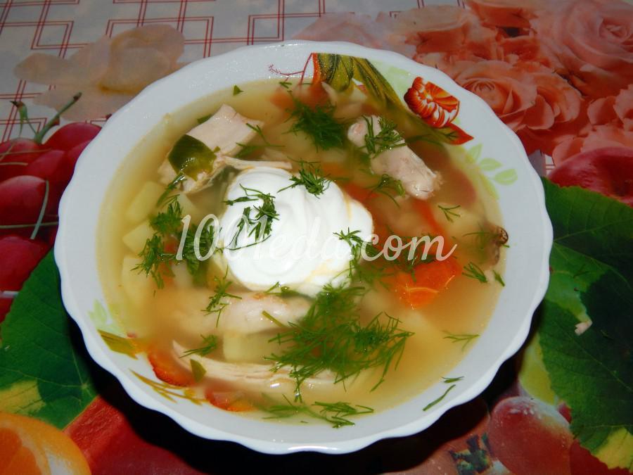 Суп с томатами Сельский