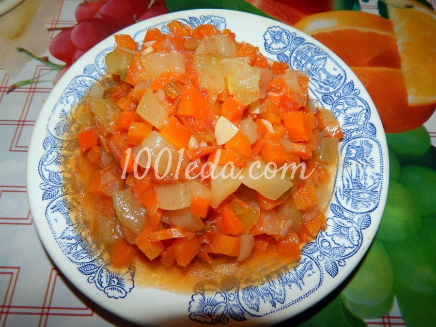 Вегетарианское диетическое овощное рагу