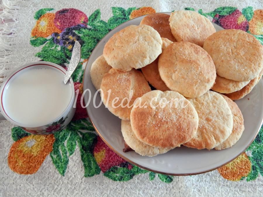 Молочные коржики со вкусом из детства: пошаговый с фото