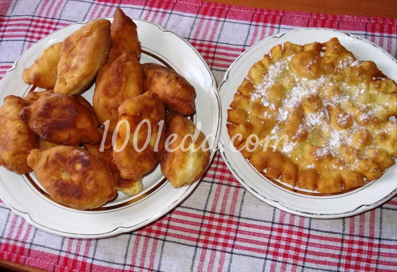 Пирожки на кефире с картофельной начинкой