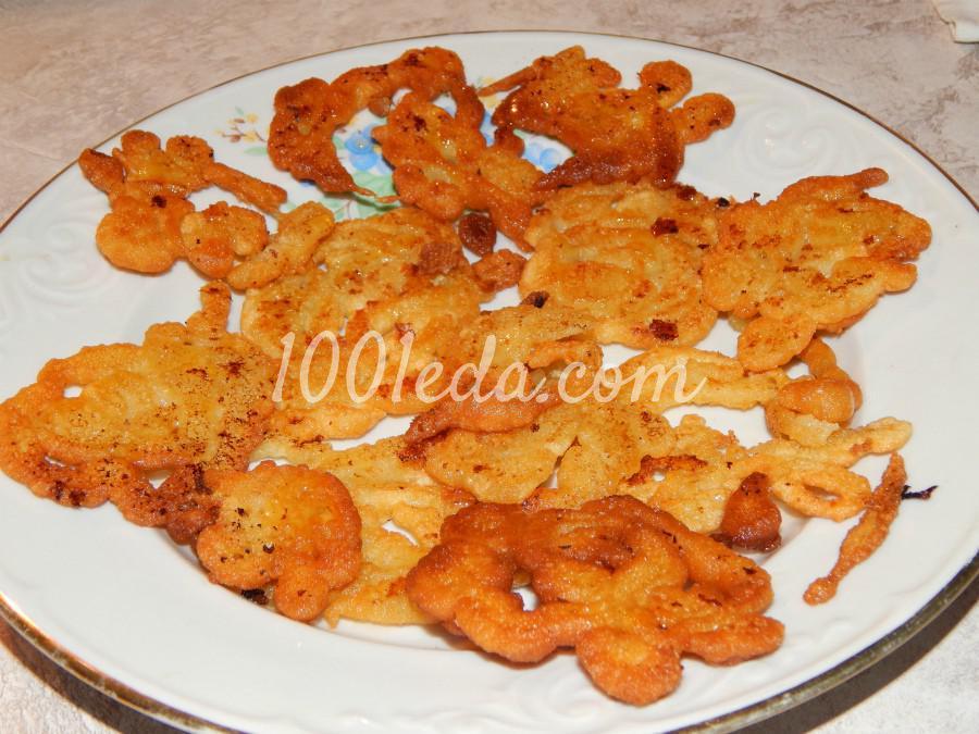 Десерт по мотивам индийской «Джалеби»