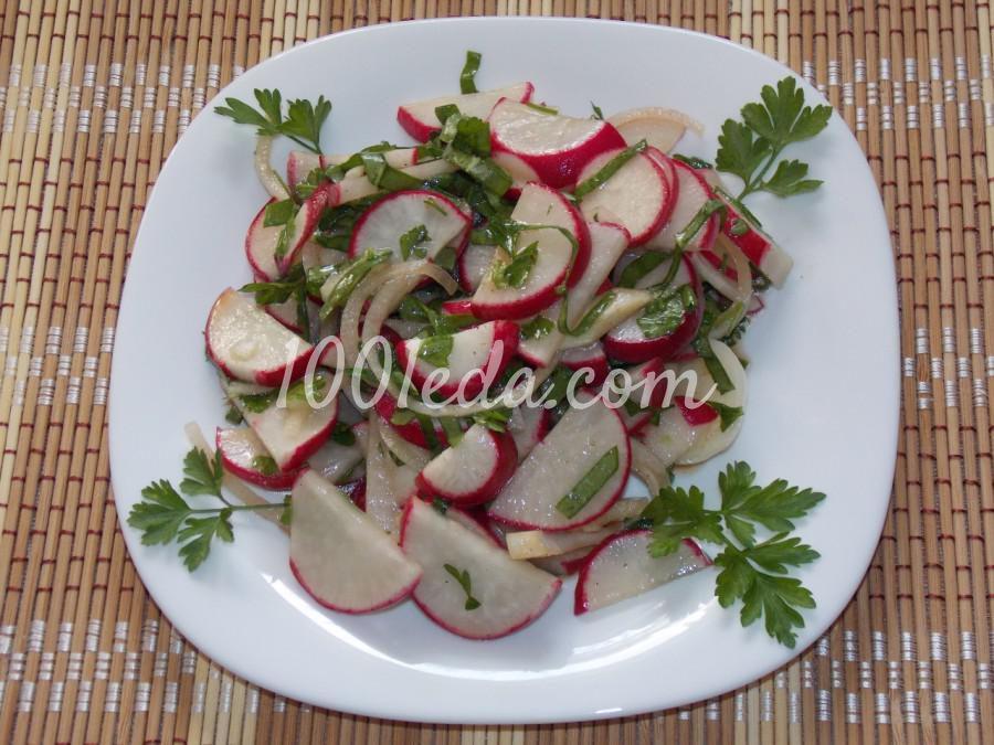Салат из редиса Весенний