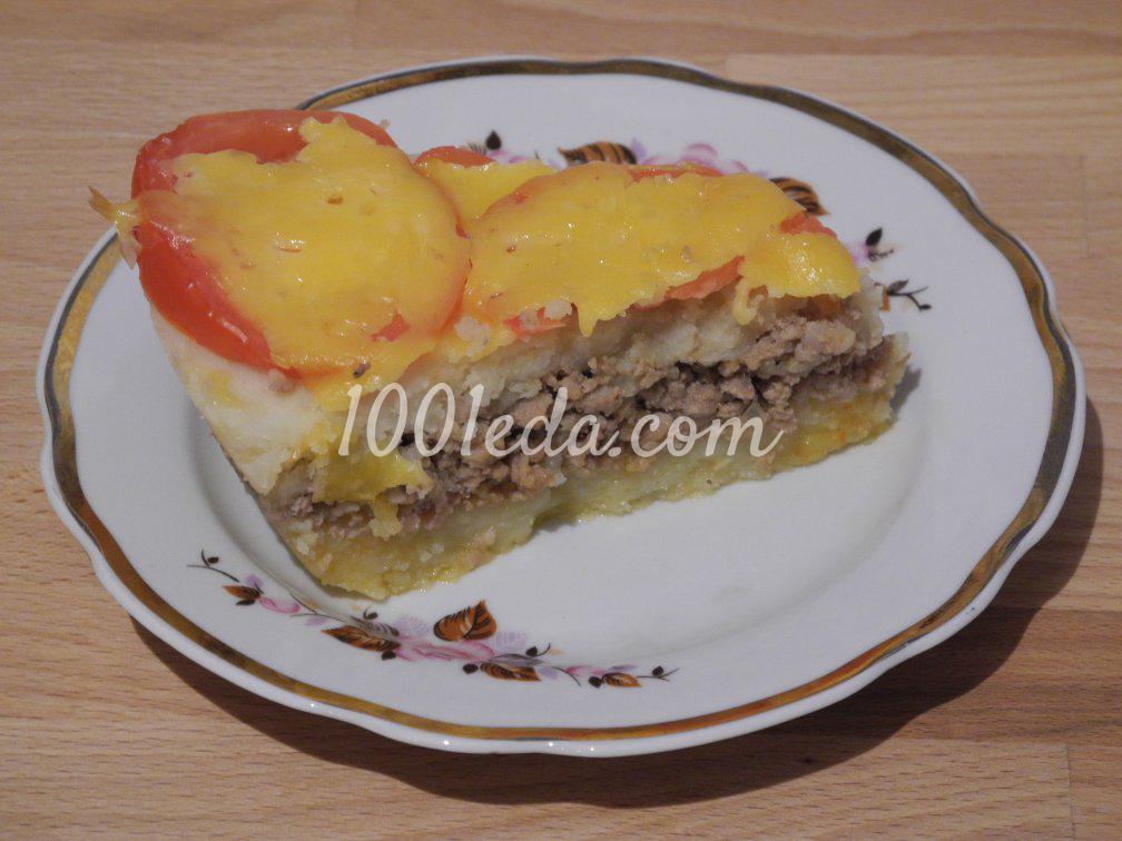 Картофельная запеканка с фаршем - вкусный рецепт с 35