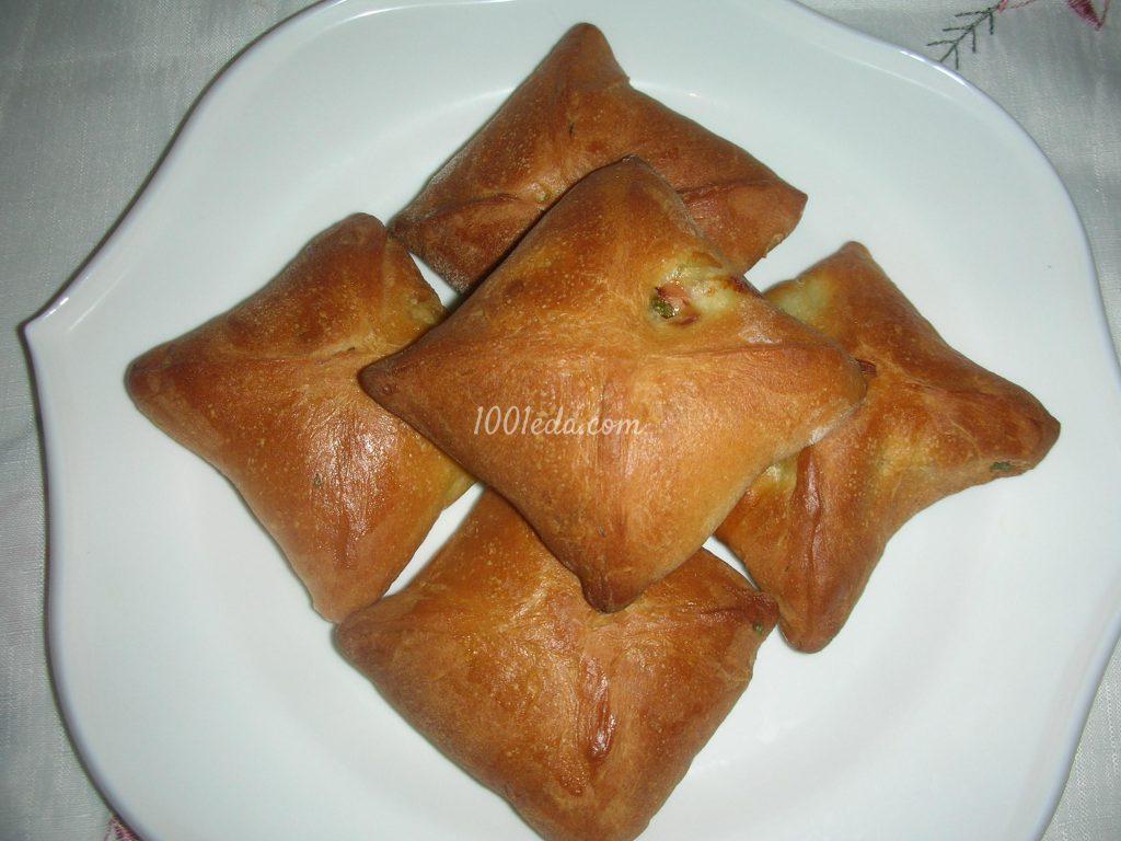 Печеные пирожки с пошаговым