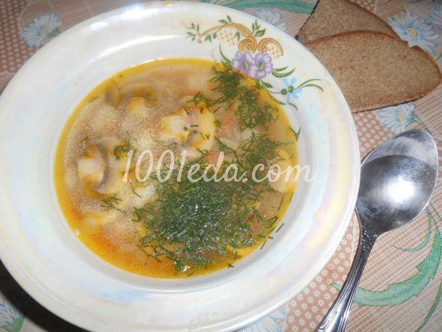 суп с гречкой и грибами рецепты
