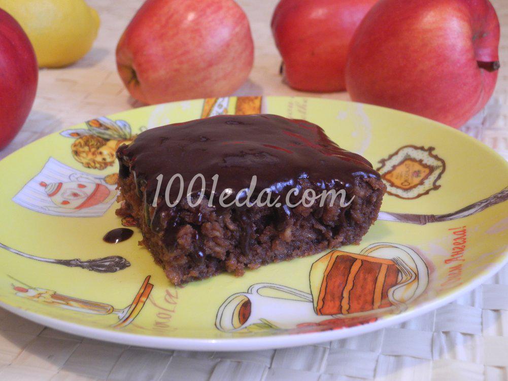 Необычный пирог с яблоками рецепт пошагово 160