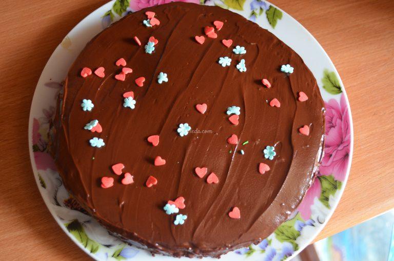 Вкусные быстрые торты с фото