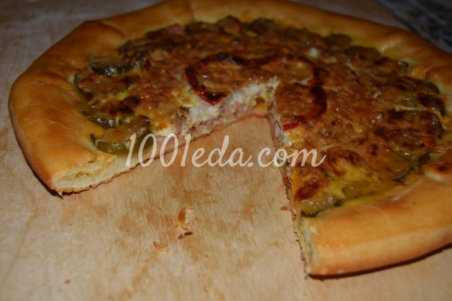 Пицца 4 сыра рецепт фото пошагово