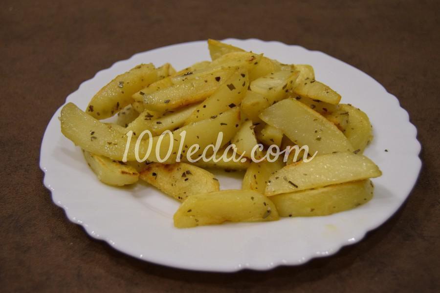 Картошка, жареная с орегано: рецепт с пошаговым фото