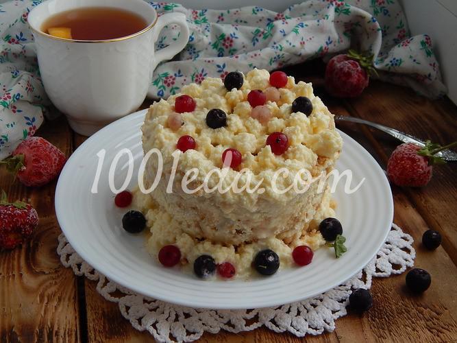 Десерт со вкусом пломбира: пошаговое фото - Шаг №5