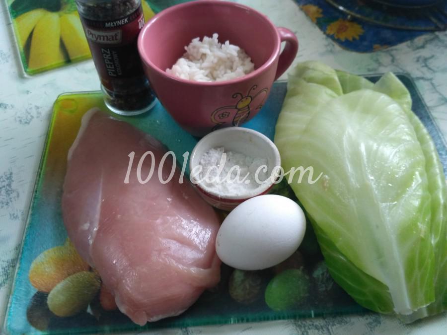 Диетические голубцы с куриным филе и рисом: рецепт с пошаговым фото - Шаг №1