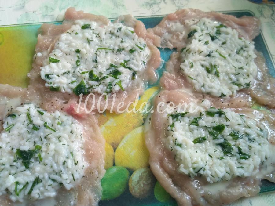 Диетические голубцы с куриным филе и рисом: рецепт с пошаговым фото - Шаг №4