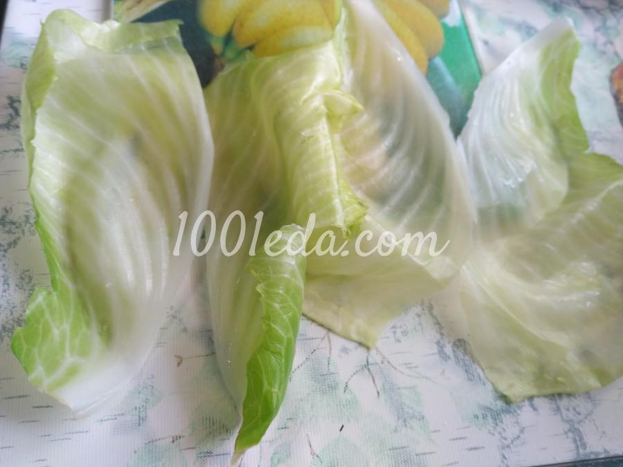 Диетические голубцы с куриным филе и рисом: рецепт с пошаговым фото - Шаг №6