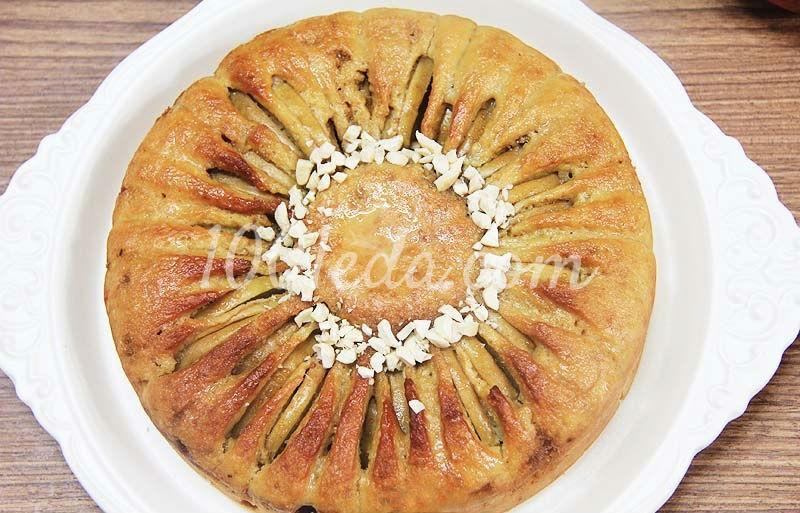 Диетический пирог с яблоками рецепт с фото