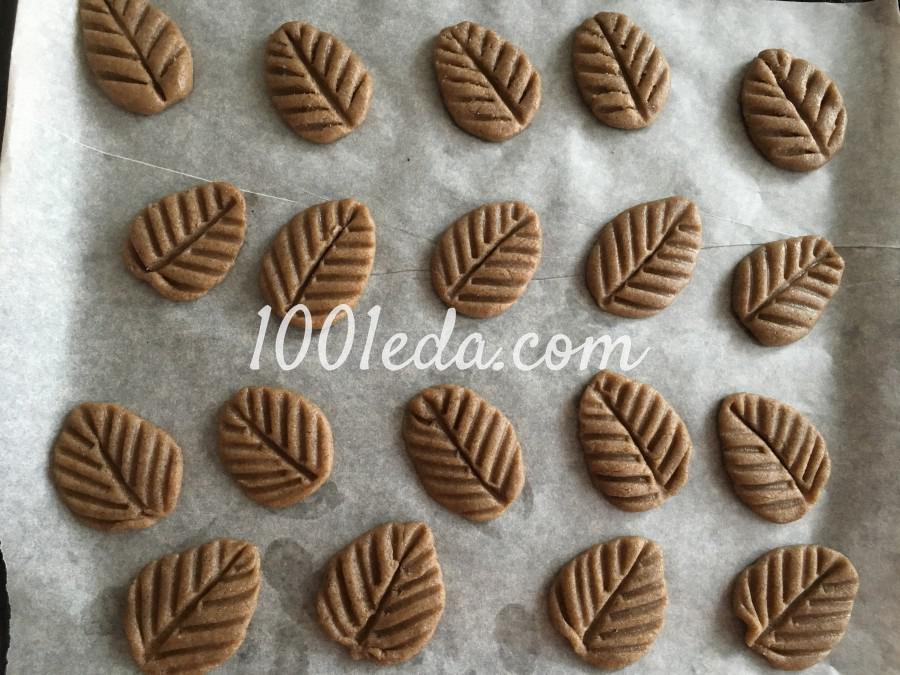 Ржаное печенье Листочки