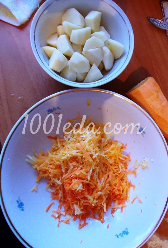 Домашняя толстая лапша с куриными потрошками: рецепт с пошаговым фото - Шаг №4