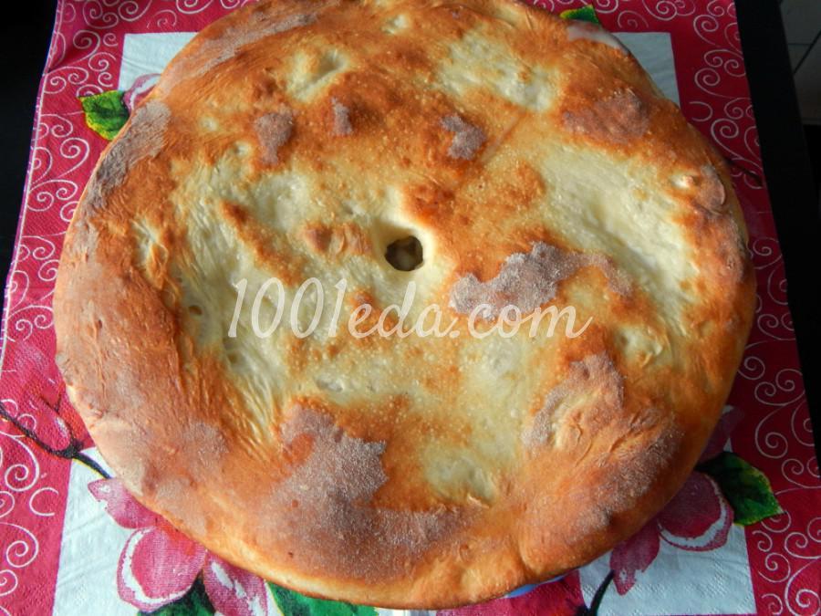 Дрожжевой пирог с мясом и картофелем: рецепт с пошаговым фото - Шаг №7
