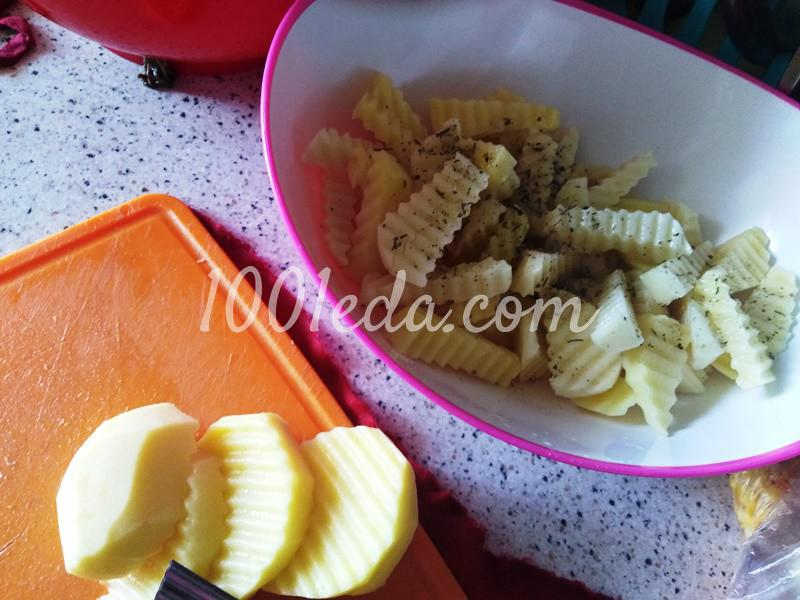 Жареные строчки с картошкой: пошаговое фото - Шаг №2
