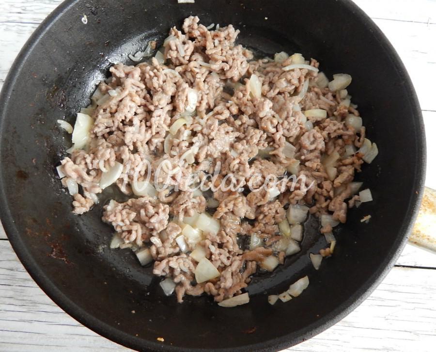 Фаршированные блины с мясом: пошаговое фото - Шаг №3