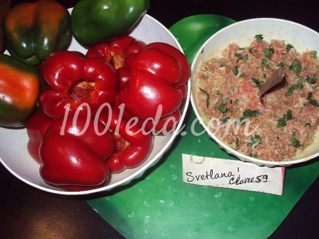Фаршированные овощи: пошаговое фото - Шаг №1